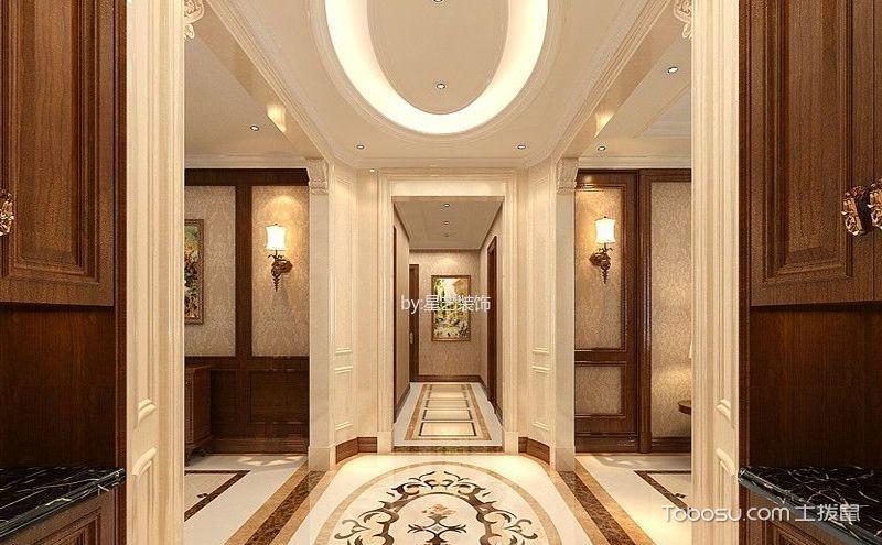 玄关吊顶装饰实景图,瞬间提升整体居室气质