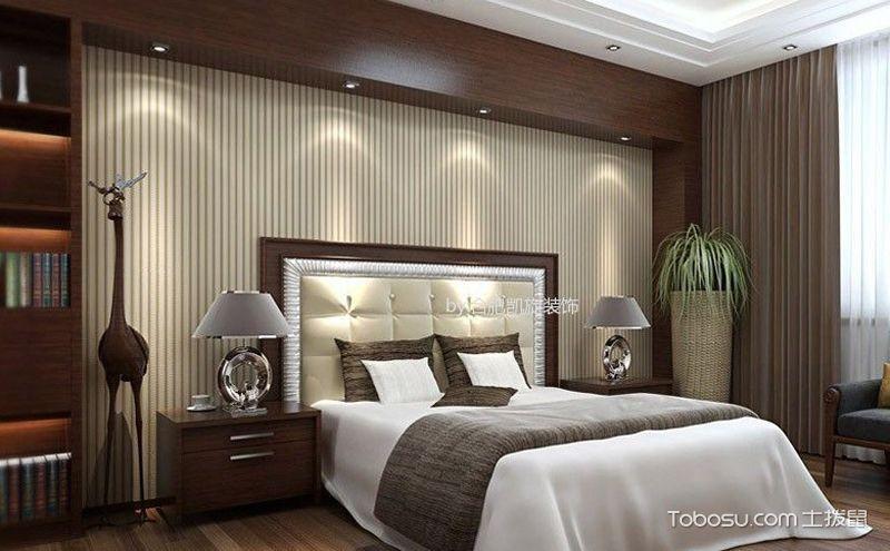 中式卧室装饰实景图,怀旧加艺术的冲击