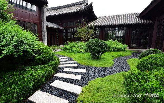 北京庭院装修效果图绿植