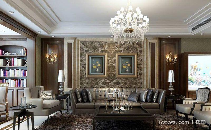 客厅装修什么颜色好看,视觉上的色彩冲击