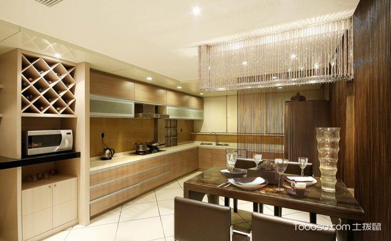 两室两厅欧美装修效果图鉴赏,高端大气上档次的家居体验