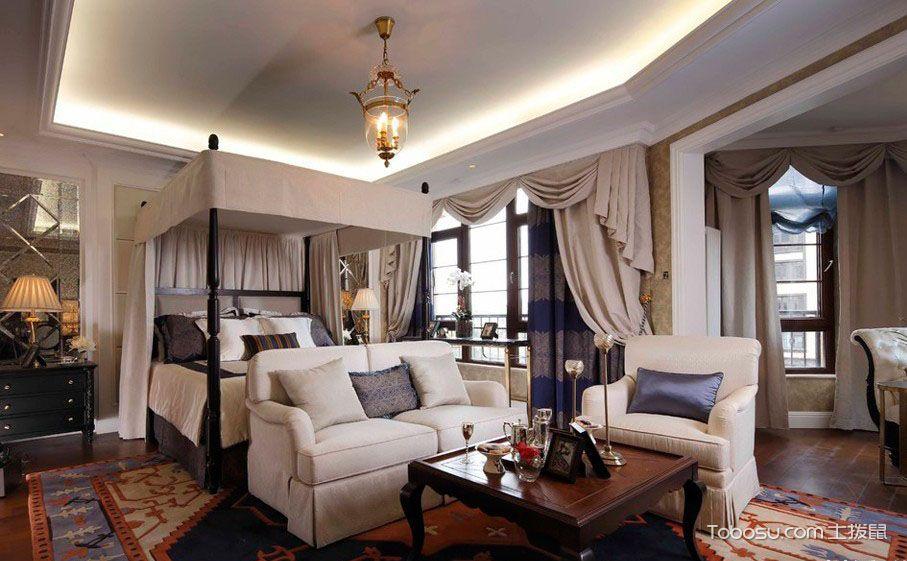 两室两厅欧式装修图片鉴赏,高贵与奢华的完美结合!