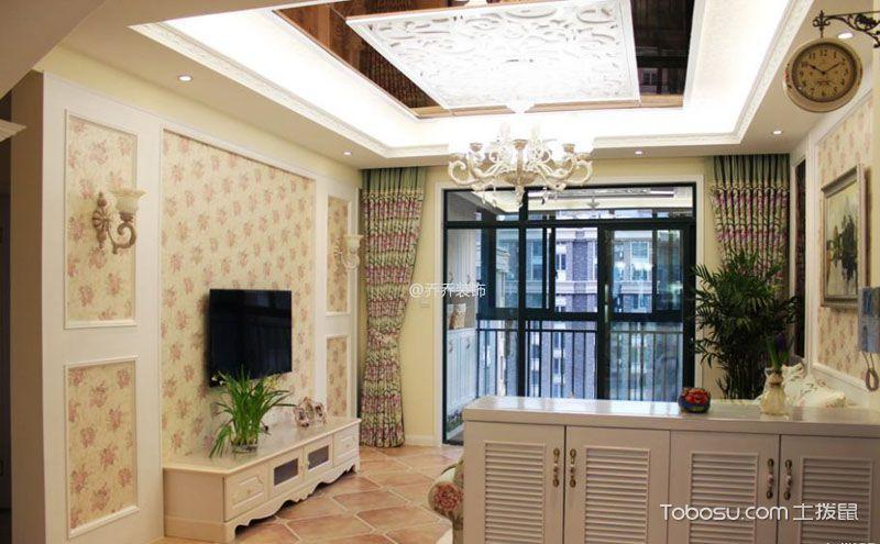 两室两厅田园装修效果图鉴赏,让您的家与大自然融为一体!