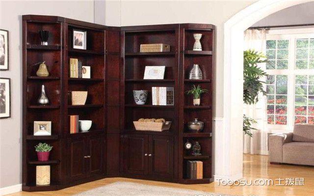 实木拐角书柜怎么选购