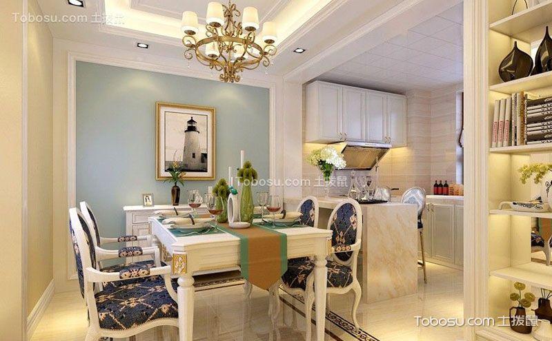 欧式家装餐厅装修效果图,彰显主人的格调和品位
