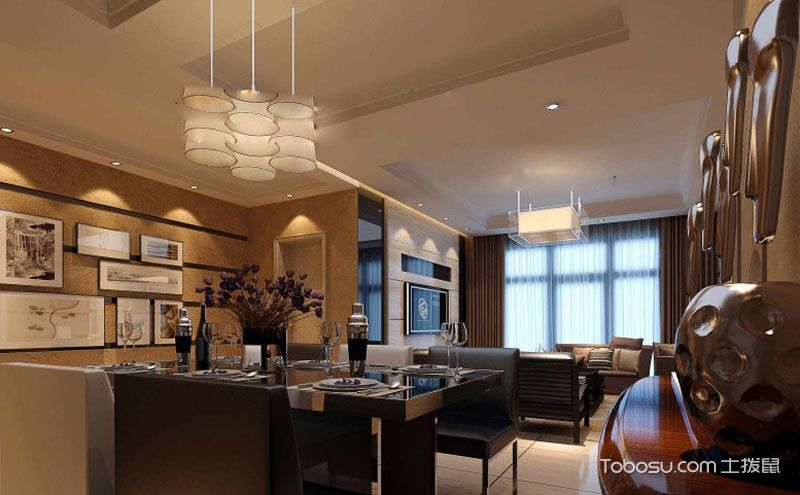现代简约风格家居装修案例,演绎低调的奢华