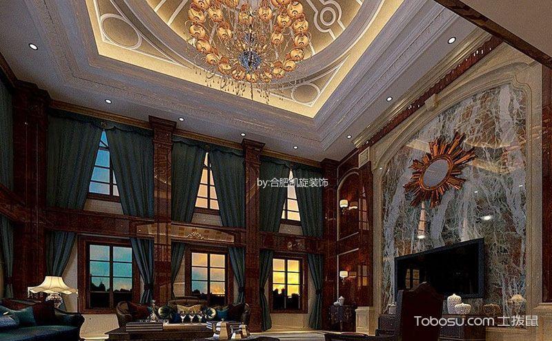 别墅客厅装修效果图,除了大气还有精美