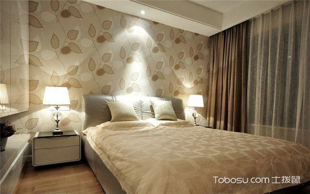 卧室说床头壁纸选购