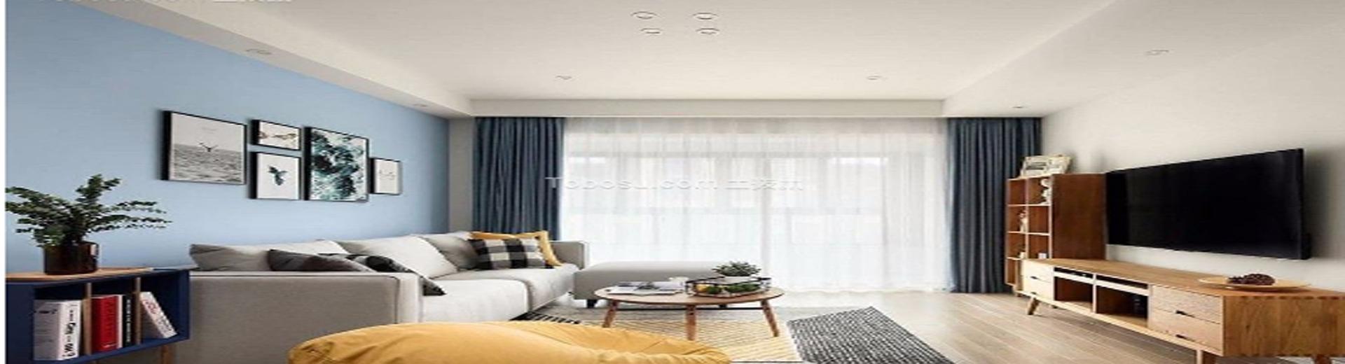 二室一廳室內裝修設計效果圖 ,享受回歸自然的美好