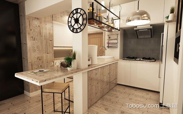 开放式家居厨房装修效果图
