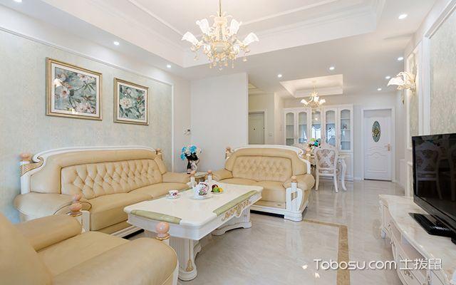 简欧式风格设计—客厅图