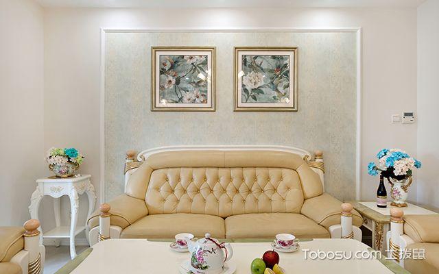简欧式风格设计—沙发背景墙
