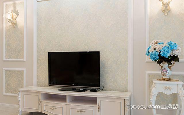 简欧式风格设计—电视背景墙