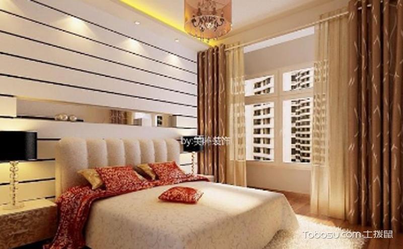 现代卧室效果图 ,备受当代人们的喜爱