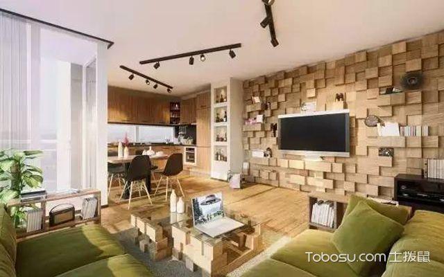 北京客厅背景墙装饰材料介绍