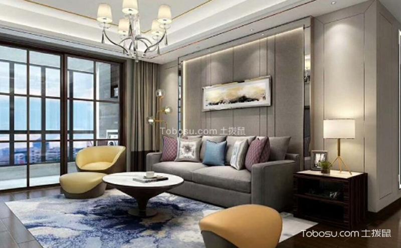 简约小客厅家装效果图 ,简单而不失质感