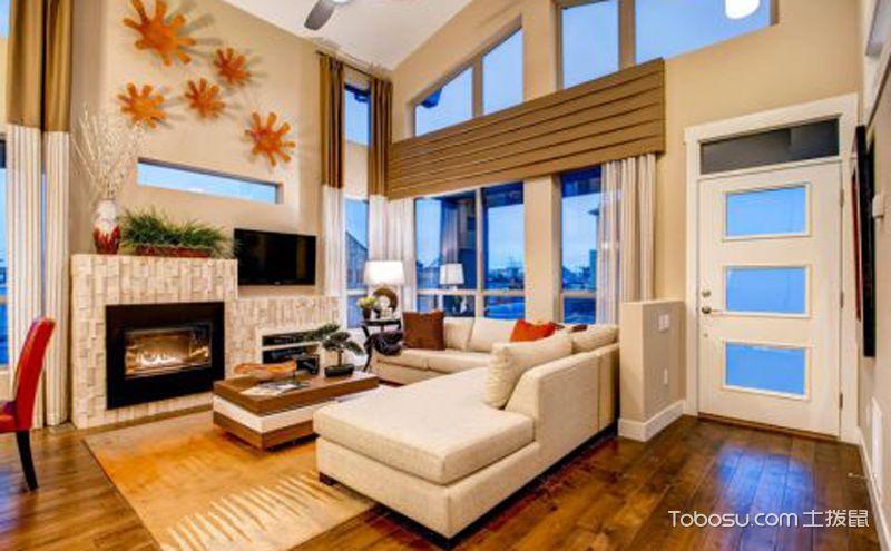 客厅硅藻装修效果图,心动吗?