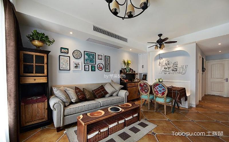 两室两厅100平米装修效果图 ,处处洋溢着浓浓温情
