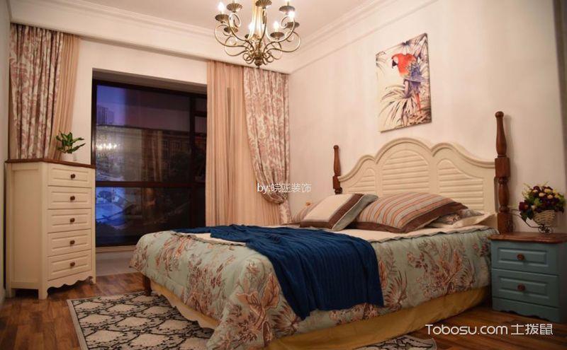 美式乡村卧室设计效果图,宁静的氛围别具情调