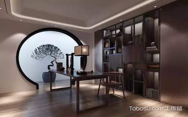 北京别墅装修设计效果图书房设计