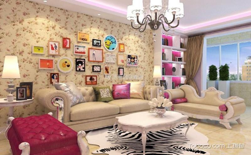 现代风客厅家装效果图大全 ,时尚简约又舒适