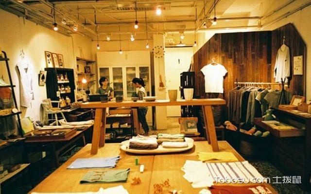 北欧风格服装店,简约时尚的北欧小店图片
