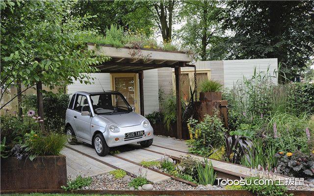 小庭院20平米设计图,庭院的设计也要灵动一些图片