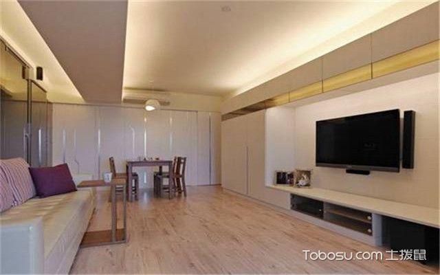 客厅横梁装修效果图,遮挡横梁不可少