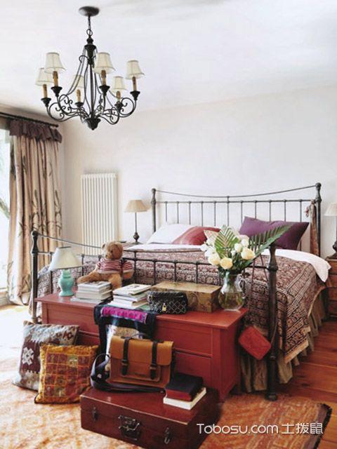 别墅卧室布置效果图