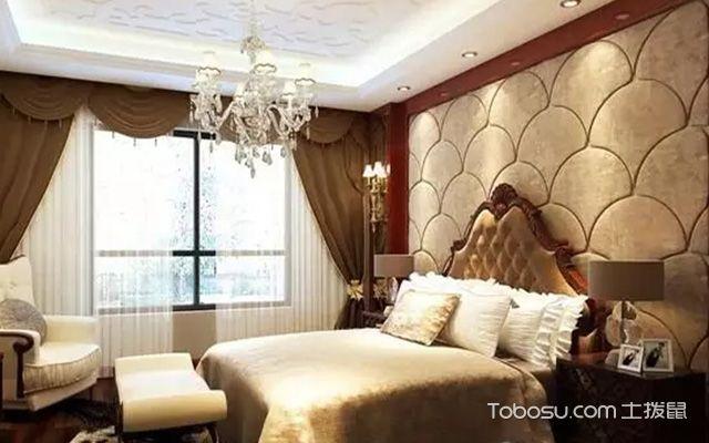 床头软包背景墙之弧形床头背景墙设计