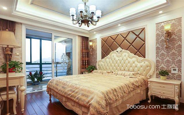 床头软包背景墙之菱形床头背景墙设计