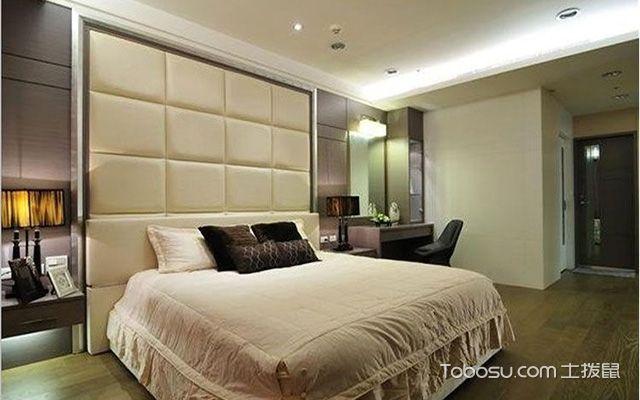 床头软包背景墙之矩形床头背景墙设计