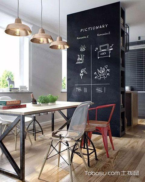 轻工业风格设计之厨房效果图
