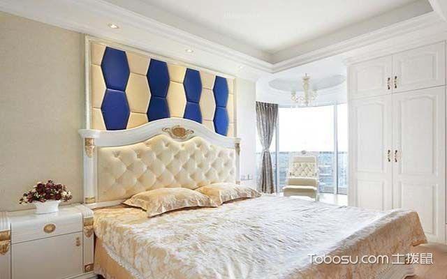 床头软包背景墙之多边形床头背景墙设计