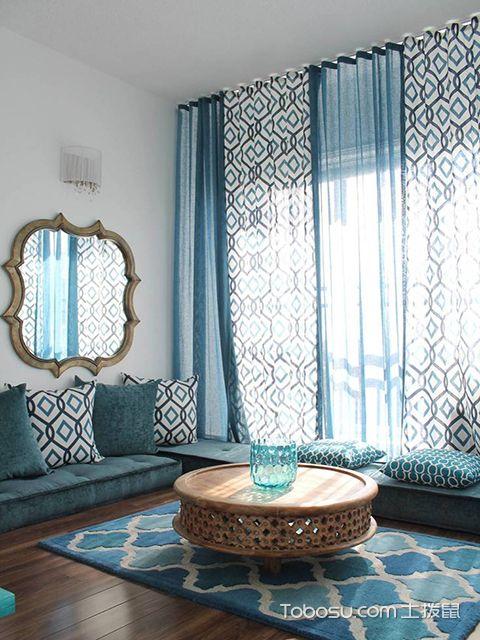 窗帘布置效果图