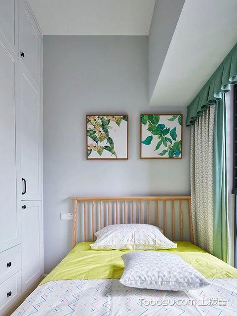 卧室窗帘布置图片
