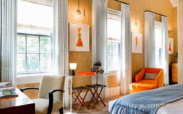 卧室窗帘装饰设计图