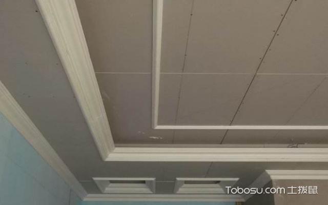 石膏线安装方法图解法工艺