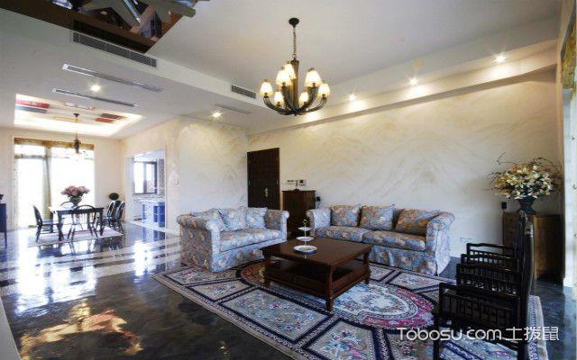 中式风格别墅装修家具布置