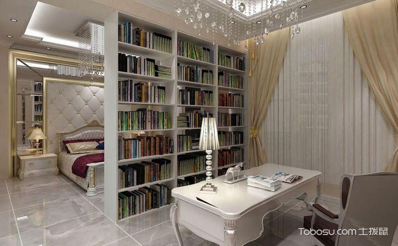 卧室书房一体装修,这样的房间更有看头