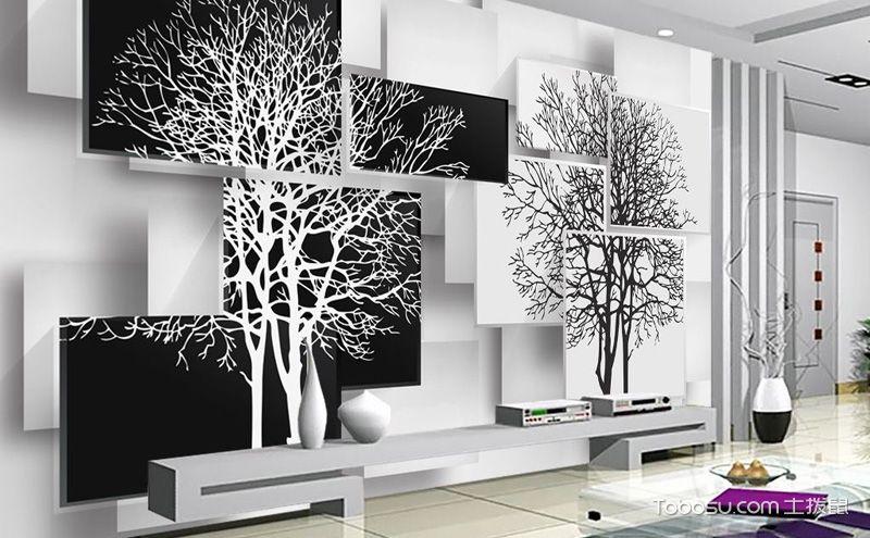 3d电视背景墙效果图,让家变得前卫时尚