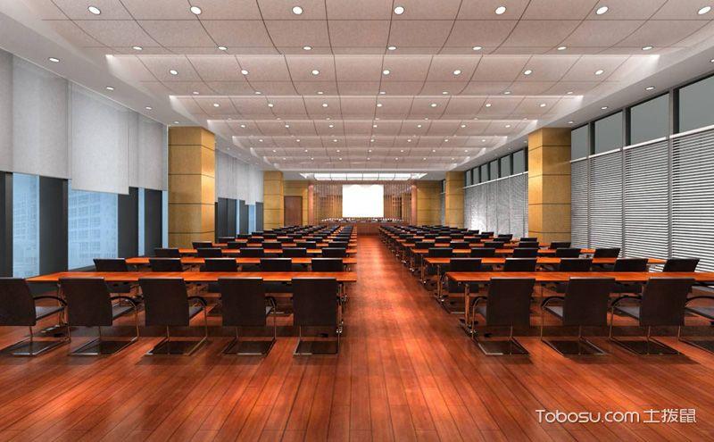 大会议室装潢图片,开阔明朗格局大气