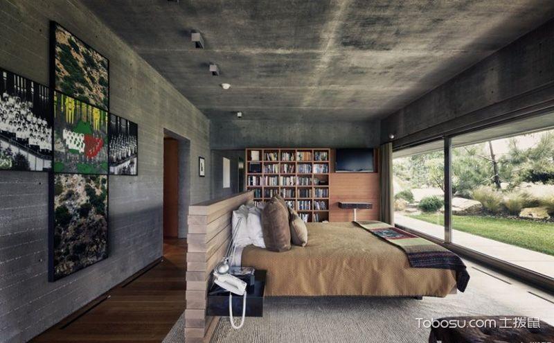后现代风格卧室装修效果图,奇思妙想的家居艺术