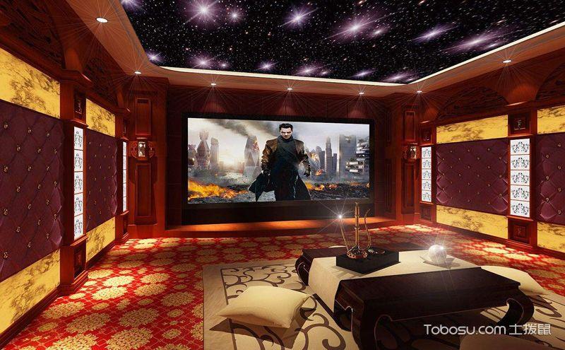 私人家庭影院设计效果图,绝美光影艺术享受
