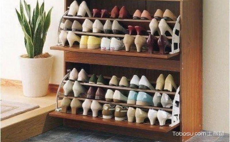 鞋架图片效果欣赏,不同材质不同美感