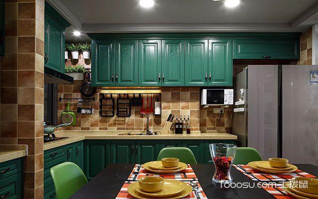 厨房布置效果图