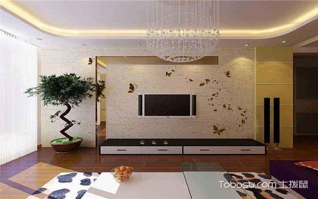 如果居室风格是欧式风格的,建议采用瓷砖,软包,石材等材料;如果是中式图片