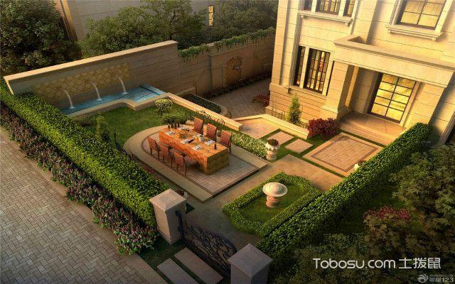 简约烟台别墅庭院设计