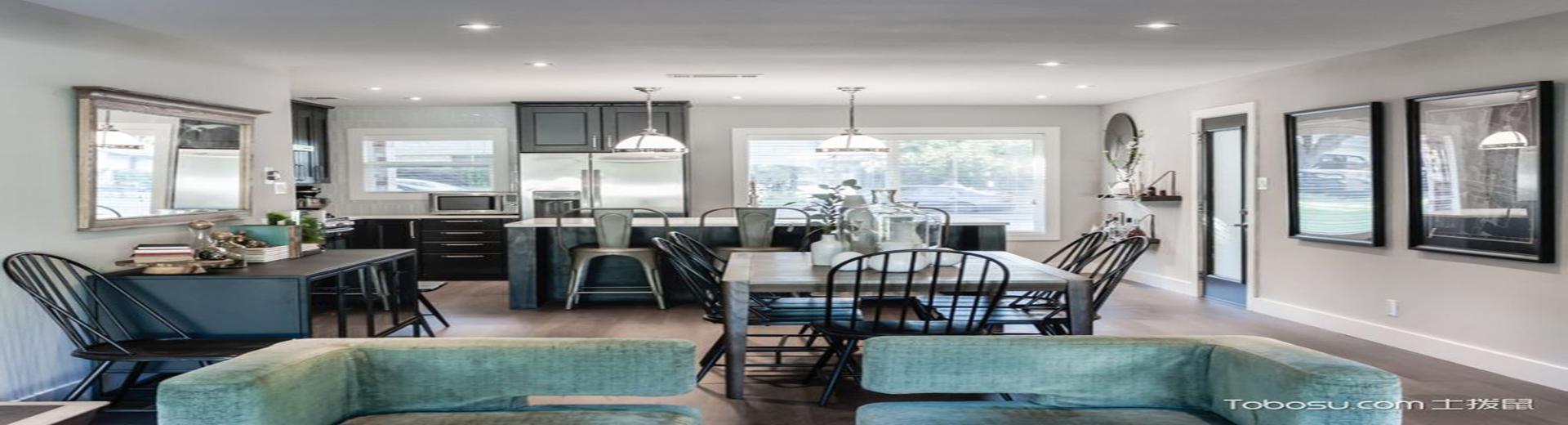 開放廚房裝修效果圖,讓馨香充滿房屋