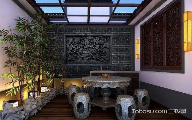 一楼庭院设计实景图介绍